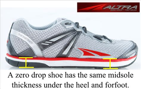 0mm drop running shoes what is a midsole drop how to run happy