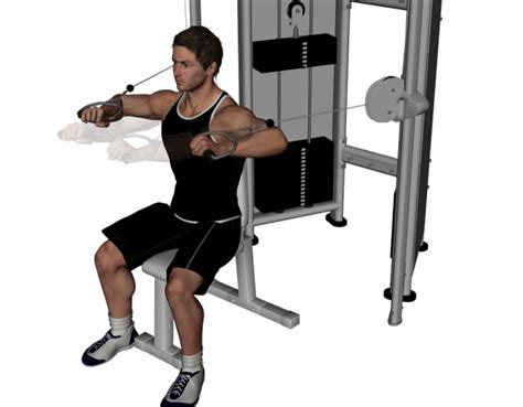 bench press cable machine cable chest exercises