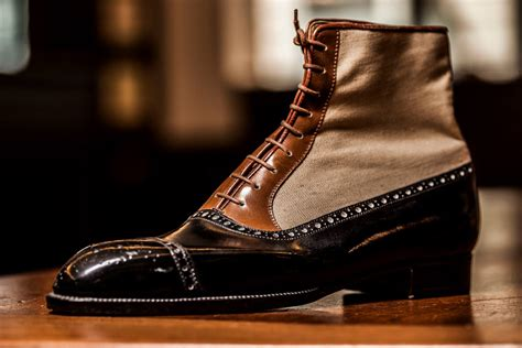 Gentleman Shoes Bespoke Bench Made And Mass Produced Shoes Parisian