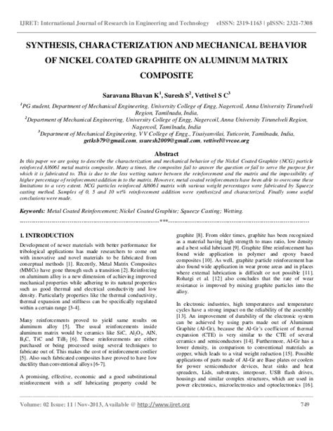 synthesis and characterization of nickel and nickel synthesis characterization and mechanical behavior of