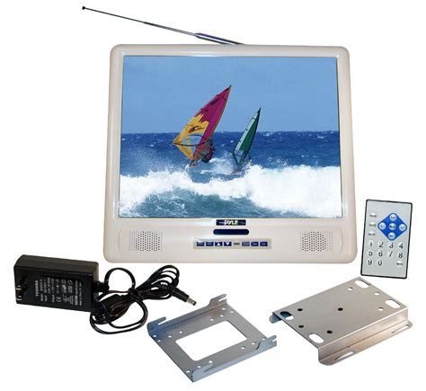 Tv Tuner Outboard Pyle Plmrvw155 Marine And Waterproof Marine