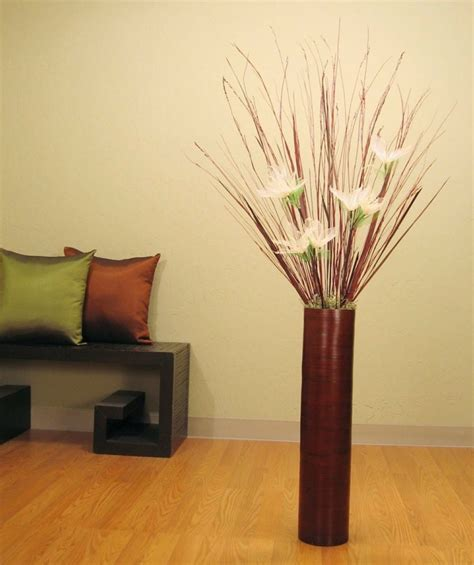 floreros grandes naturalismo en casa ideas de jarrones grandes