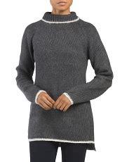 Delona Blouse 1 sleeve tunic sweater
