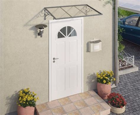 door awnings clear awnings canada