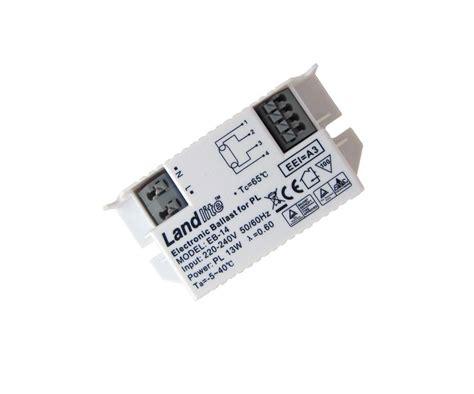 LANDLITE EB 14 Electronic Ballast, for 1x PL 13W 4 Pin