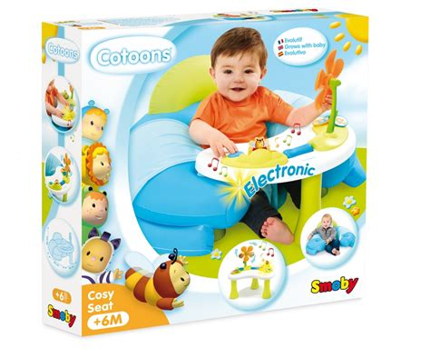 cotoons cosy seat si鑒e gonflable smoby cotoons cosy seat asst early learning cotoons