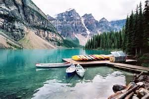 Canada199 canada kanada moraine lake alberta canoes banff