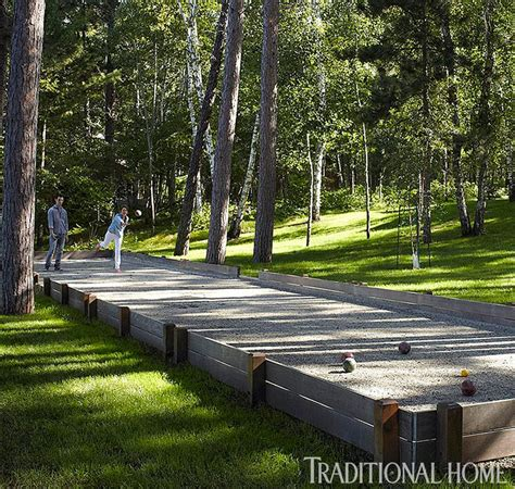 Backyard Bocce Court by Best 25 Bocce Court Ideas On Bocce Court