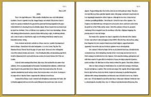 How To Write A Double Spaced Paper Double Spaced Paper Galleryhip Com The Hippest Galleries