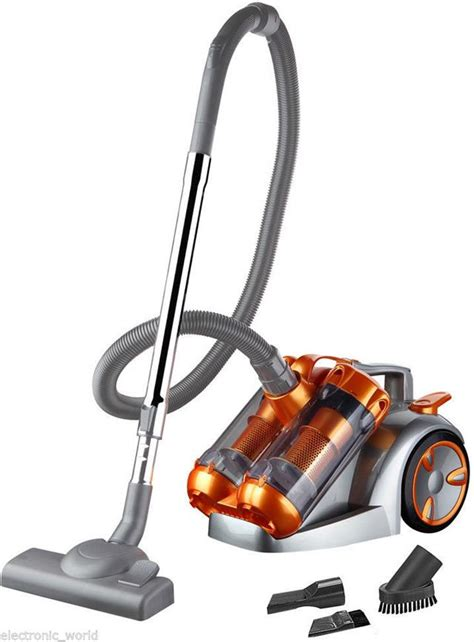 Vacuum Cleaner Maxhealth Ez Hoover Cyclone dual cyclone 3000w power 5l cyclonic bagless vacuum cleaner cylinder hoover