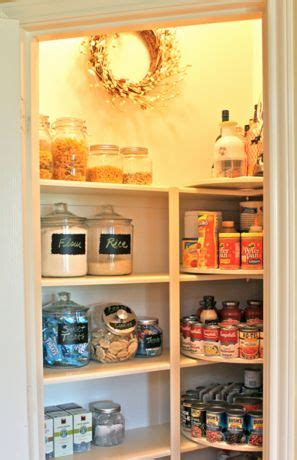 Corner Kitchen Cabinet Organization Ideas 17 Best Images About Pantry On Pinterest Small Pantry
