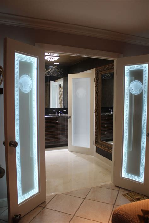 Top 3 Reasons Interior Designers Love Krystal Glass Custom Etched Glass Doors