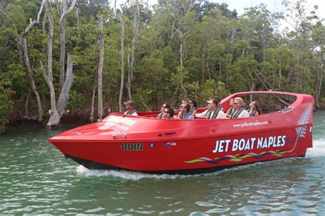 tin city boat tours jet boat eco thrill tour attraction in naples florida