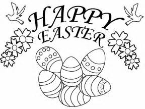 easter egg coloring book page collections