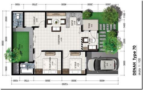 design minimalis type 70 contoh denah rumah minimalis type 70 rumahmasadepan com