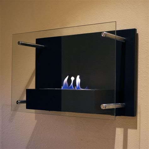 In Wall Ethanol Fireplace by Nu Radia 23 6 In Wall Mount Decorative Bio Ethanol