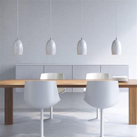 pendelleuchte glas moderne pendelleuchte mit tulpenf 246 rmigem galsschirm in
