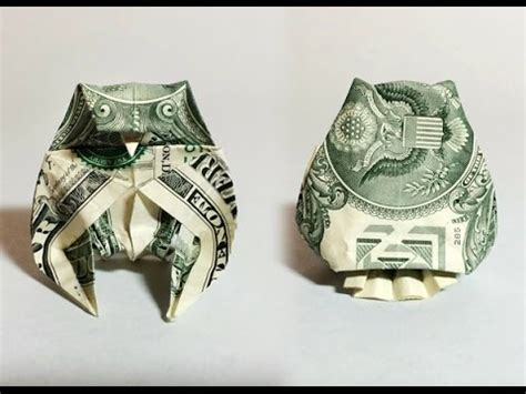 Dollar Owl Origami - dollar bill origami owl preview money origami moneygami