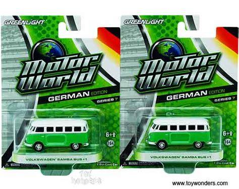 Greenlight Volkswagen Samba 164 greenlight motor world series 7 volkswagen samba