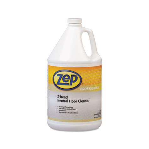 ph neutral floor cleaner for terrazzo floors zep z tread neutral floor cleaner amrr03424ct shoplet