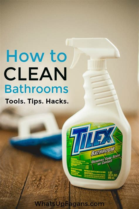 How To Clean A Bathroom by Cleaning Tips And Tricks For A Thoroughly Clean Home