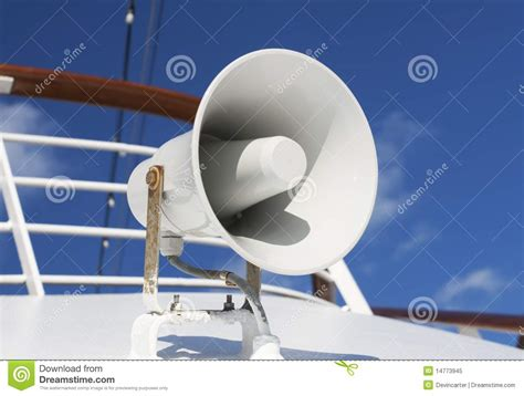 boat horn stock image image of sound nautical horn - Sound Of A Boat Horn