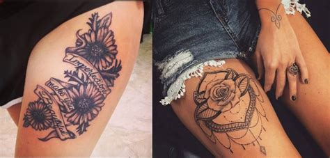 tattoo mandala coxa tatuagens de flores na coxa 1001 tatuagens