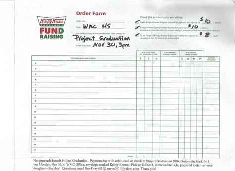 printable krispy kreme order forms krispy kreme doughnuts order now patch