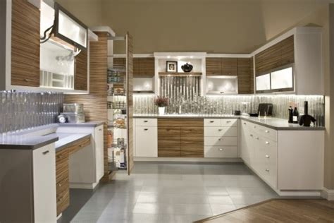 zebra wood kitchen cabinets modern kitchen with matched grain zebra wood and white