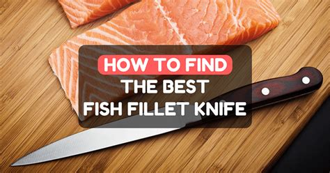 what is the best fish fillet knife how to find the best fish fillet knife