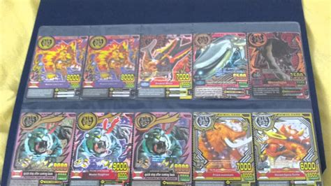 ultimate animal kaiser card collection youtube
