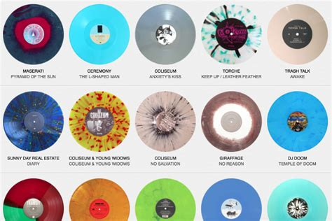 colored vinyl drool an archive of coloured vinyl and picture