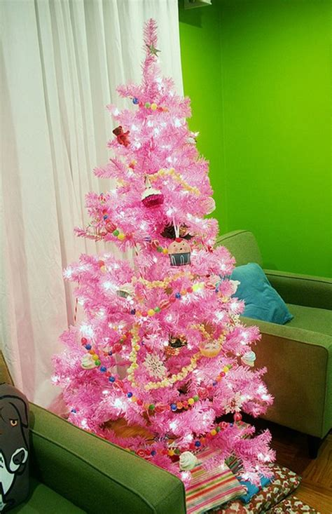 beautiful pink christmas tree decor ideas