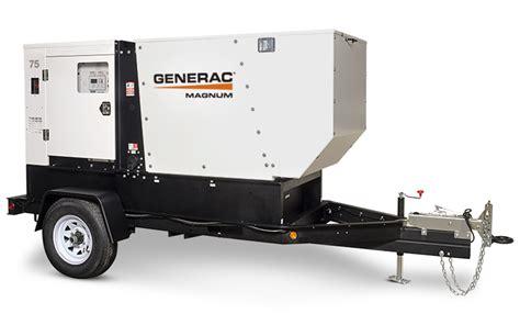 generac mobile diesel generator mmg75d 56 69 kw 56 86