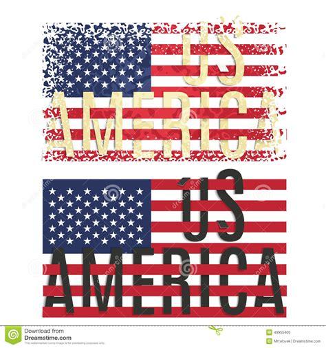 printable flag poster print poster apparel t shirt design american flag stock