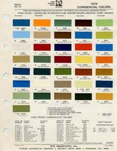 1969 ford truck colors the exterior color code indicates the paint color color code