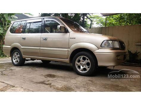 Toyota Kijang Kapsul Lgx 2001 jual mobil toyota kijang 2001 krista 2 0 di dki jakarta