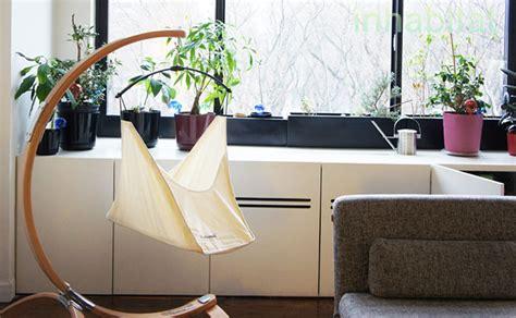 bassinet that hooks to bed inhabitots reviews hushamok s gorgeous baby bassinet