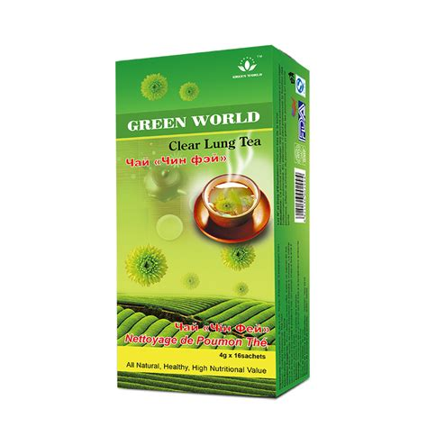 Green Tea For Lung Detox by Clear Lung Tea