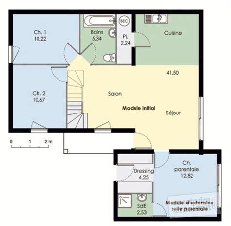 two l maison modulable d 233 tail du plan de maison modulable