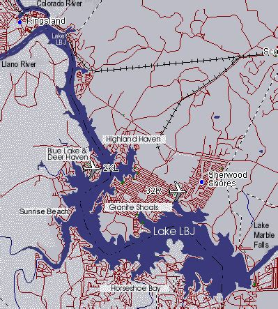 highland lakes texas map lake lbj in the highland lakes of central texas hill country