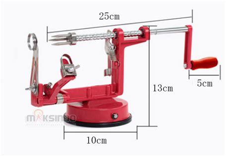 Supplier Alat Dapur Pemotong Pengiris Pengupas Modern Pisau Pengupas jual alat pengiris apel mks apl88 di tangerang toko