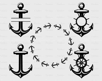 boat anchor dxf anchor dxf etsy studio