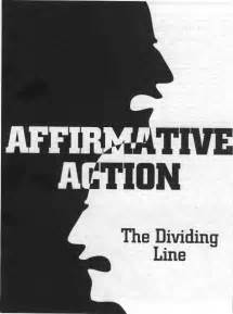 Affirmative action liberals helping the lesser race the black