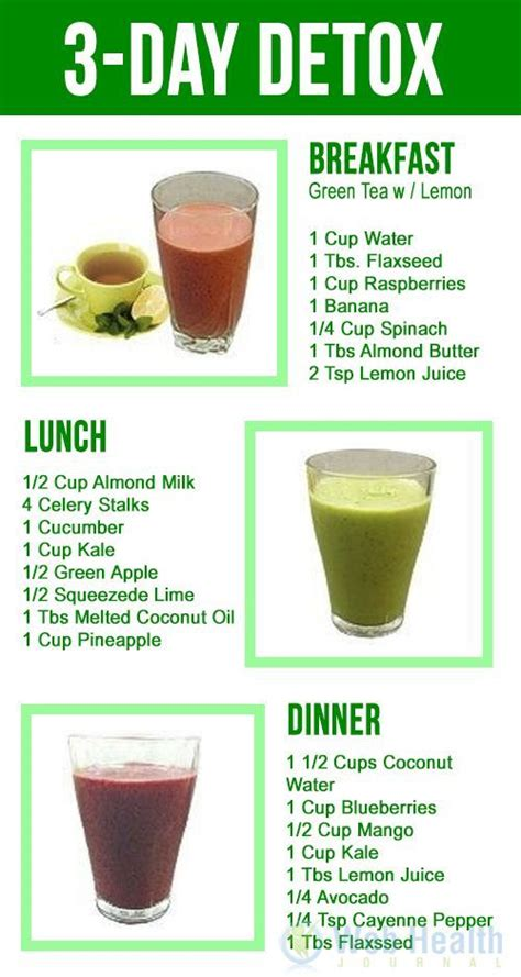 Detox Juice 3 Days Ingredient by All Diet Nutrition Articles Information Detox