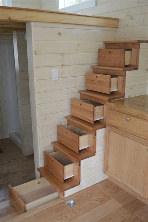 tiny house stairs maximize your space with these 19 tiny house hacks