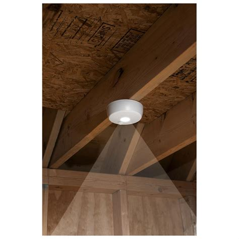 Ceiling Security Light by Wireless Motion Sensor Led Ceiling Light 592975 Home Security Devices At Sportsman S Guide