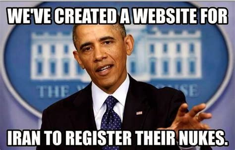 Iran Meme - lol i m sure a website will solve iran barry