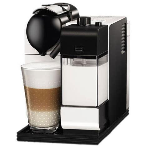 delonghi nespresso lattissima plus en520 pw pearl white capsule coffee machine around the