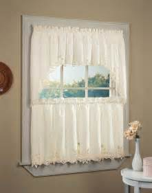 Battenburg Lace Kitchen Curtains Battenburg Lace 5 Kitchen Curtain Tier Set Curtainworks